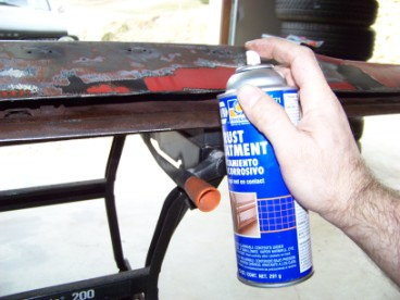 Early Valiant Barracuda Club - Trunk Lid Rust Repair